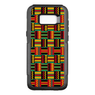 De Afrikaanse Zwarte van de Trots van het Weefsel OtterBox Commuter Samsung Galaxy S8+ Hoesje