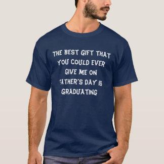 de afstuderen van de vadersdag t shirt