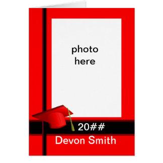 De afstuderen voegen fotoKaart toe Briefkaarten 0