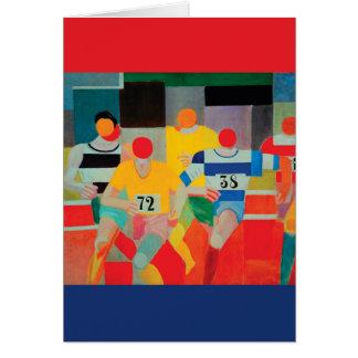 De agenten door Robert Delaunay Briefkaarten 0