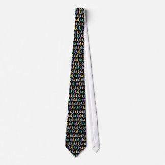 De agenten van de atleet stropdas