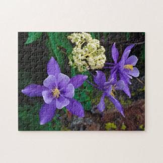 De Akelei Wildflowers van de mutant Puzzel