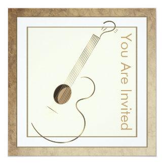 De akoestische Uitnodigingen van het Logo van de