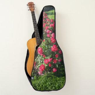 De akoestische Zak van de Gitaar met rozen Gitaartas