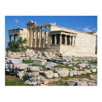 De Akropolis van Erechtheum - GRIEKENLAND Briefkaart