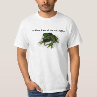 De alcoholische Kikker T Shirt