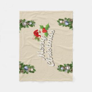 De Algemene Gift van Kerstmis Fleece Deken