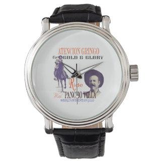 De algemene Mexicaanse Held van Pancho Villa Horloge
