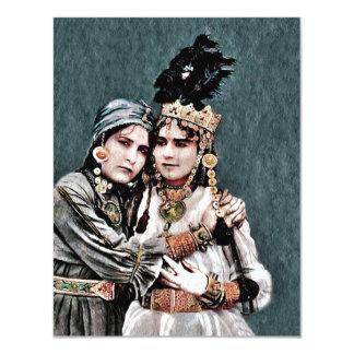 De Algerijnse Meisjes van de Zigeuner Kaart
