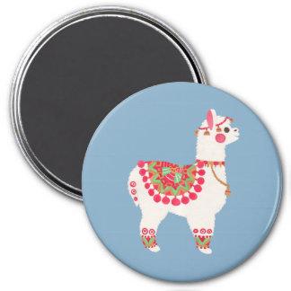 De alpaca magneet