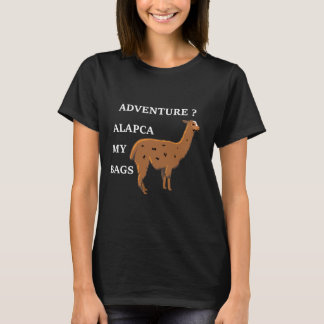 De Alpaca van het avontuur Mijn Overhemd van de T Shirt