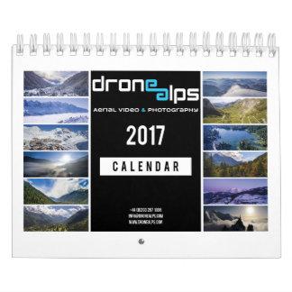 De Alpen 2017 van de hommel Kalender