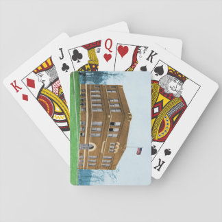 De alpha- Geconsolideerde Speelkaarten van de