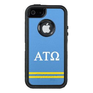 De alpha- Tau Omega | Streep van de Sport OtterBox Defender iPhone Hoesje