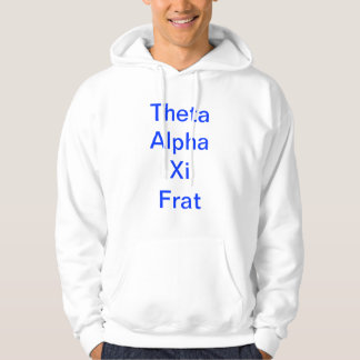 De Alpha- Xi Lynx Hoodie van de theta