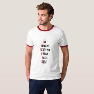 De altijd Klaar T-shirt van de Kapper