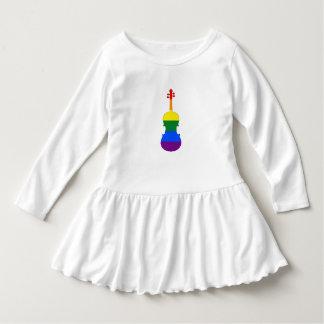 De Altviool van de regenboog Baby Jurk