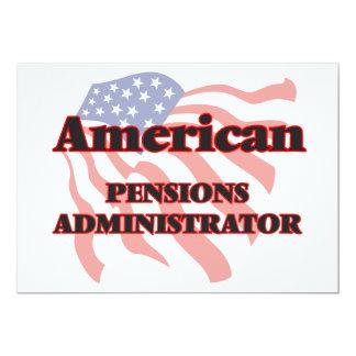 De Amerikaanse Beheerder van Pensioenen 12,7x17,8 Uitnodiging Kaart
