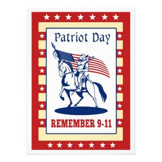De Amerikaanse Dag van de Patriot herinnert Wenska Uitnodigingen