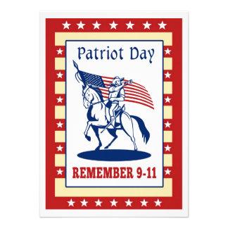 De Amerikaanse Dag van de Patriot herinnert Wenska Aankondiging