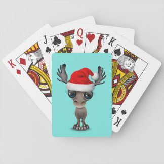 De Amerikaanse elanden die van het baby een Pet Pokerkaarten