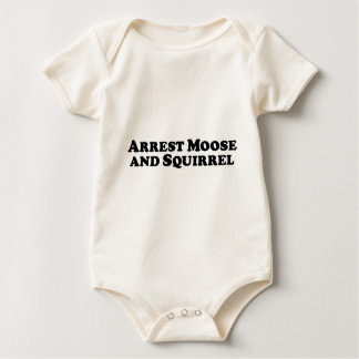 De Amerikaanse elanden en de Eekhoorn van de Baby Shirt