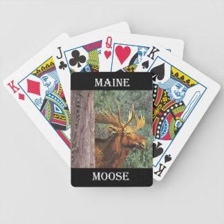 De Amerikaanse elanden van Maine Poker Kaarten