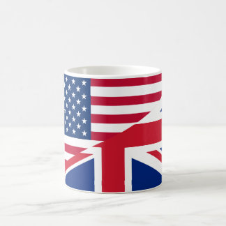 De Amerikaanse en Britse Samengevoegde Mok van de