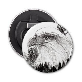 De Amerikaanse Flesopener van Eagle Button Flesopener