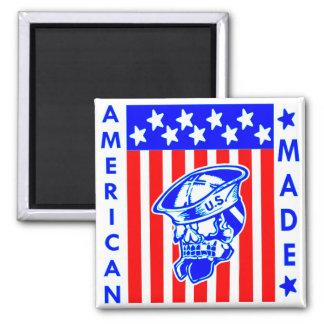 De Amerikaanse Gemaakte Zeeman van de Vlag van de Magneet