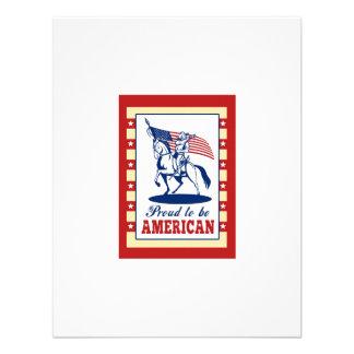 De Amerikaanse Groet van het Poster van de Dag van Persoonlijke Uitnodiging