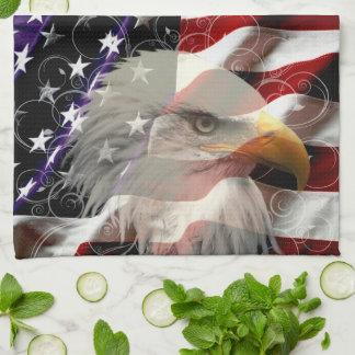 De Amerikaanse Handdoek van de Keuken van de Vlag