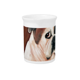 De Amerikaanse Hond van de Stier Drank Pitcher