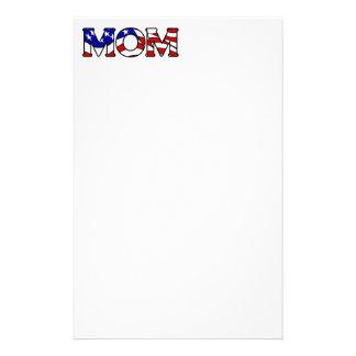 De Amerikaanse Kantoorbehoeften van het Mamma van Briefpapier