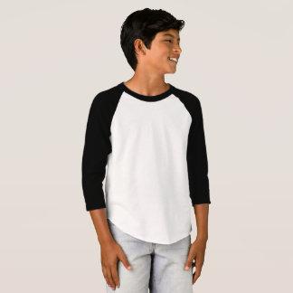 De Amerikaanse Kleding van het kind 3/4 Raglan van T Shirt