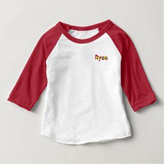 De Amerikaanse Kleding van Ryan 3/4 Raglan van het Baby T Shirts