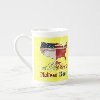 De Amerikaanse Maltese Kop van Wortels