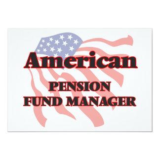 De Amerikaanse Manager van het Fonds van het 12,7x17,8 Uitnodiging Kaart