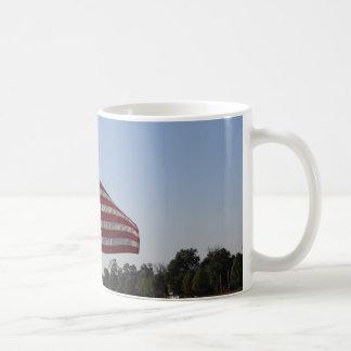 De Amerikaanse Mok van de Vlag