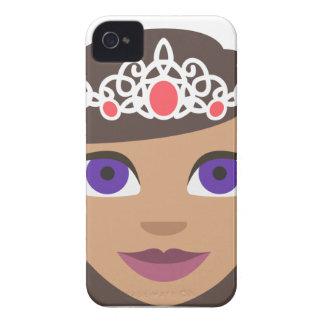 De Amerikaanse Prinses Emoji van Koninklijke iPhone 4 Hoesje