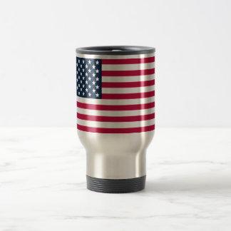 De Amerikaanse Reis van de Vlag/de Mok van de