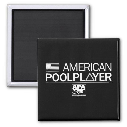 De Amerikaanse Speler van de Pool Magneet