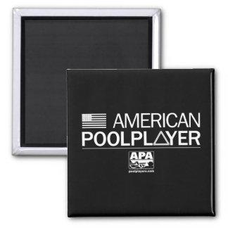 De Amerikaanse Speler van de Pool Vierkante Magneet