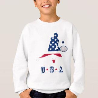 De Amerikaanse speler van het Tennis van de V.S. Trui