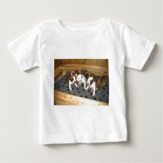 De Amerikaanse Staffordshire Terrier Hond van het Baby T Shirts