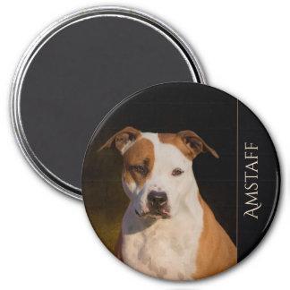 De Amerikaanse Staffordshire Terrier Magneet van