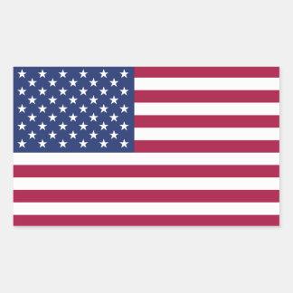 De Amerikaanse Sticker van de Vlag
