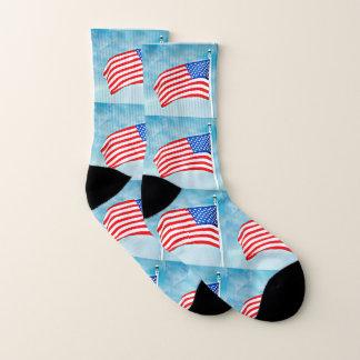 De Amerikaanse Unisex-Sokken van de Vlag Sokken