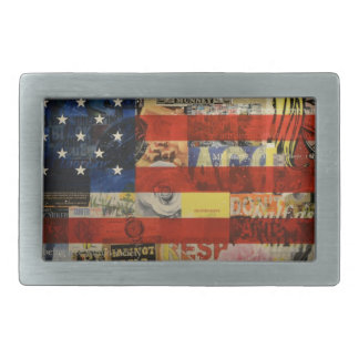 De Amerikaanse Vlag Amerika van Verenigde Staten Gespen