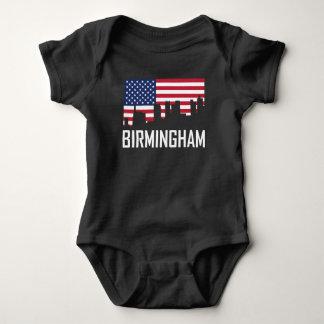 De Amerikaanse Vlag van de Horizon van Birmingham Romper